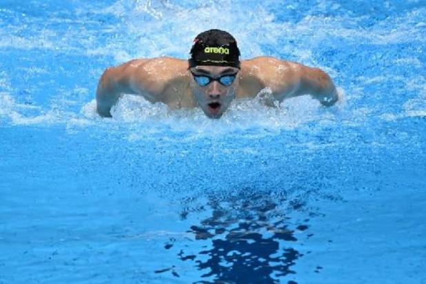 Natation: le Hongrois Kristof Milak remporte le 200 m papillon