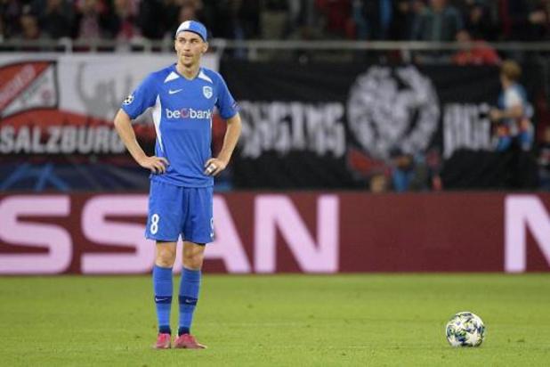 Champions league - Slap Genk krijgt in Salzburg stevige oplawaai