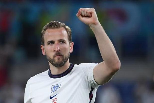 Euro 2020 - Auteur d'un doublé contre l'Ukraine, le capitaine anglais Harry Kane élu Homme du Match