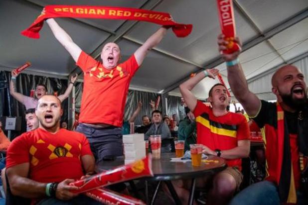 Plus de 1,5 million de Belges devant leur écran pour le match amical contre la Grèce