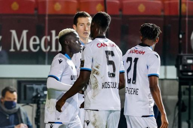 Jupiler Pro League - Club Brugge steviger leider na 0-3 zege in Mechelen