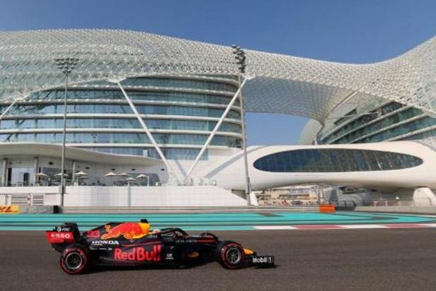 Max Verstappen meilleur chrono de la troisième séance d'essais libres