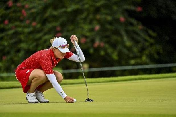 Manon De Roey wordt na knappe remonte zesde in Estrella Damm Ladies Open