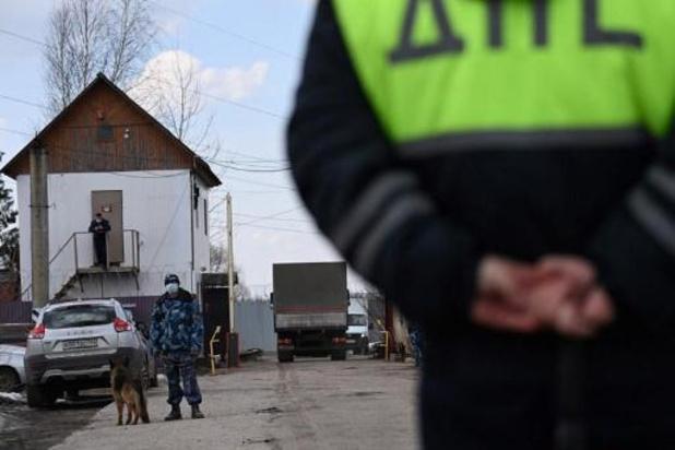 Russische gevangenisautoriteiten brengen Navalny over naar ziekenhuis