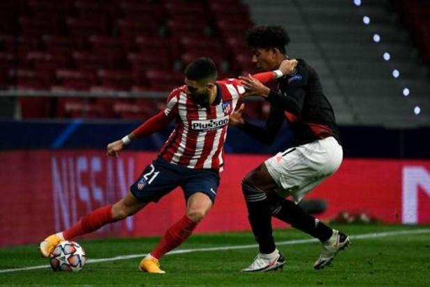 L'Atletico Madrid se déplace à Salzbourg avec Yannick Carrasco