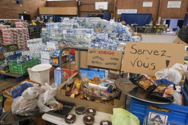 Intempéries: L'aide alimentaire aux sinistrés sera gérée par la Région à partir de la mi-septembre