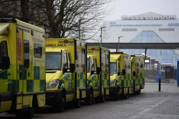 Verschillende IC-afdelingen van Londense ziekenhuizen lagen vol op oudejaarsavond