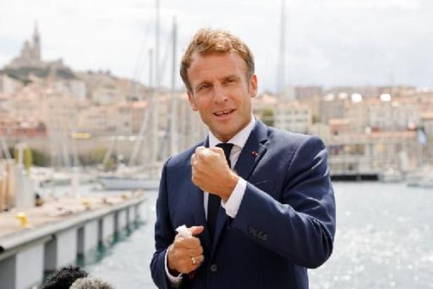 """Environnement: Macron annonce un sommet """"One Ocean"""" fin 2021 ou début 2022 en France"""