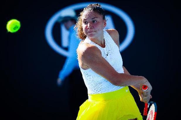 Wimbledon: Sofia Costoulas dans le dernier carré du double chez les juniores