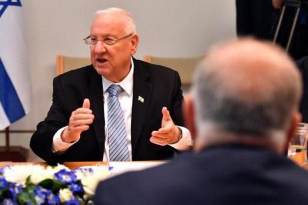 Israëlische president belast parlement met regeringsvorming
