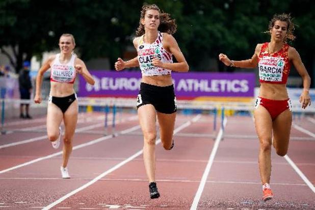 Le relais 4x400 mètres féminin éliminé en séries