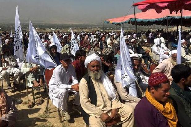 A Kaboul, les talibans organisent un rassemblement de la victoire