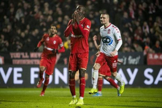 Croky Cup - Antwerp speelt na penaltymisser van Lamkel Zé gelijk tegen KV Kortrijk