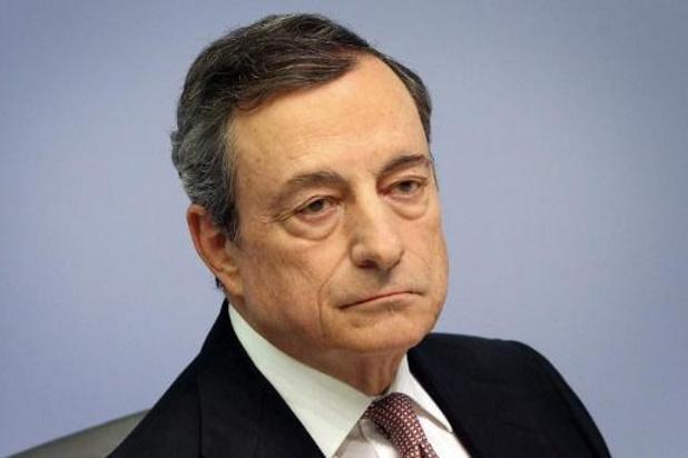 Draghi houdt bij zijn afscheid rentetarieven onveranderd