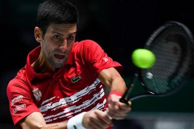 La Serbie bat le Japon, retour réussi pour Novak Djokovic