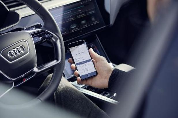 Audi-rijders kunnen opties online bestellen en ontvangen