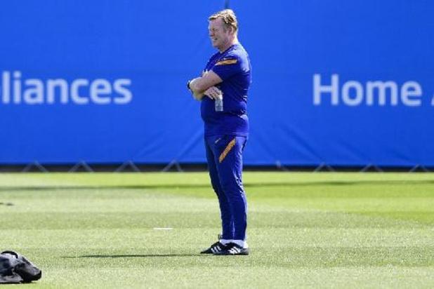 Ronald Koeman confirmé à la tête du FC Barcelone