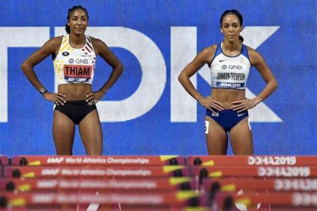 Mondiaux d'athlétisme - Nafissatou Thiam va devoir se surpasser pour garder sa couronne mondiale de l'heptathlon