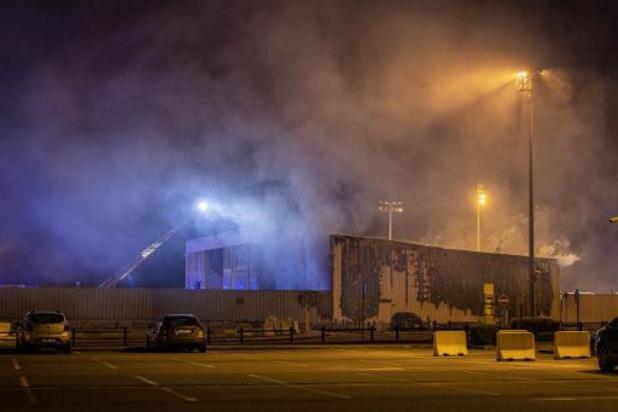 Incendie à Liege Airport: le hangar touché sera détruit