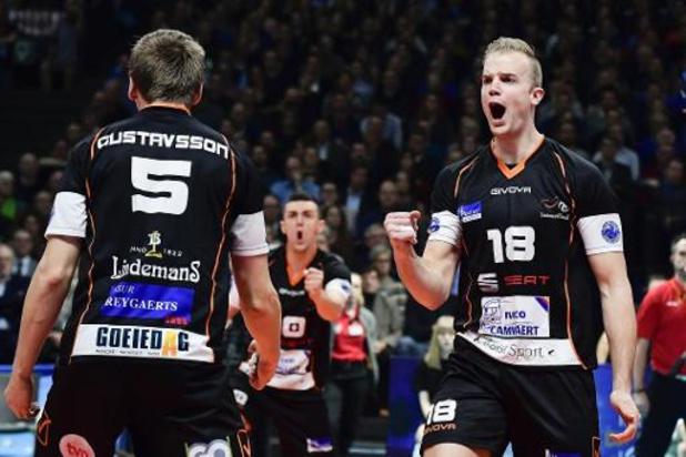 Euromillions Volley League - Alost inflige à Maaseik sa 1re défaite et le rejoint en tête