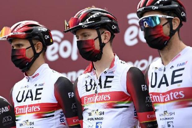 UAE Emirates, avec Pogacar, Hirschi et McNulty, autorisé à prendre le départ de Liège-Bastogne-Liège
