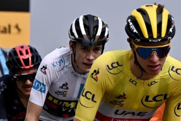 """Tour de France - Vingegaard rukt op naar tweede plaats in klassement: """"Nog één lastige rit"""""""