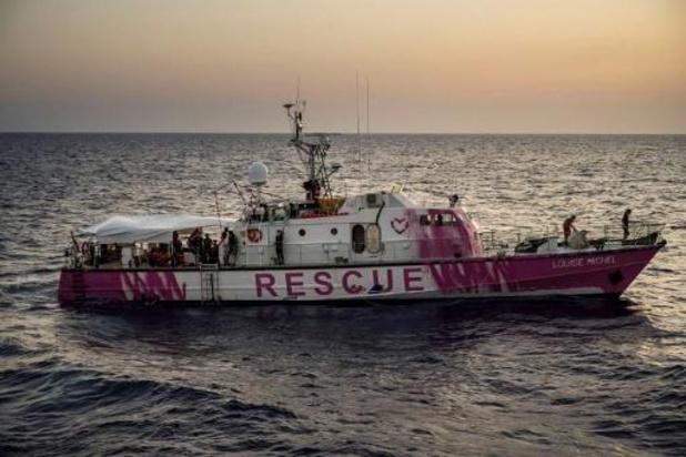 Asile et migration - Navire de Banksy : tous les passagers ont quitté le bateau