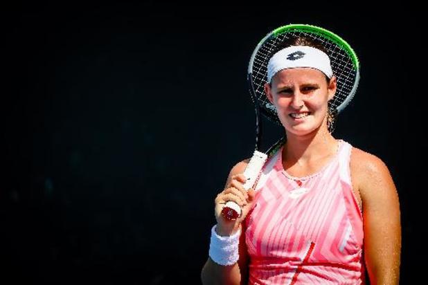 Greet Minnen battue aux portes du tableau final du WTA Miami