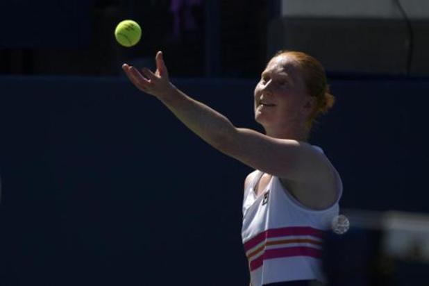 Alison Van Uytvanck plaatst zich voor halve finale tegen Kristyna Pliskova