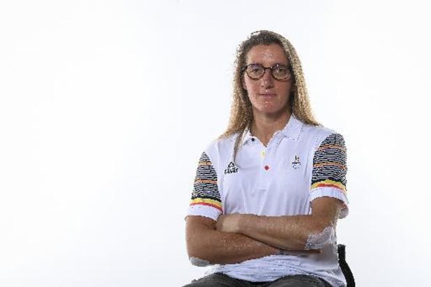 """Paralympische Spelen - Laurence Vandevyver eindigt als achtste in tijdrit: """"Ik sta op mijn plaats"""""""