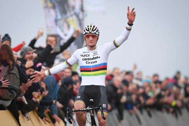 """Mathieu van der Poel komt """"dicht bij topconditie"""""""