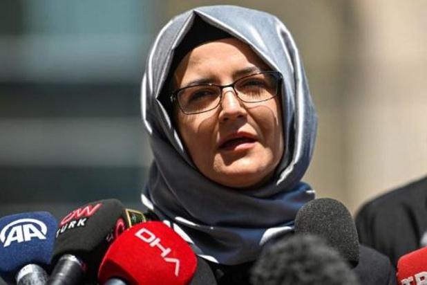 """La fiancée du journaliste Jamal Khashoggi appelle à """"punir"""" le prince héritier saoudien"""