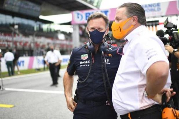 Drie coronagevallen bij McLaren, waaronder teambaas Zak Brown