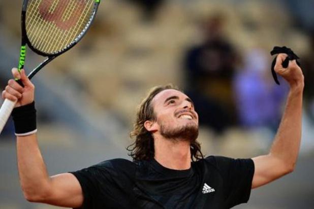 Tsitsipas bereikt halve finales Roland Garros na winst tegen Rublev