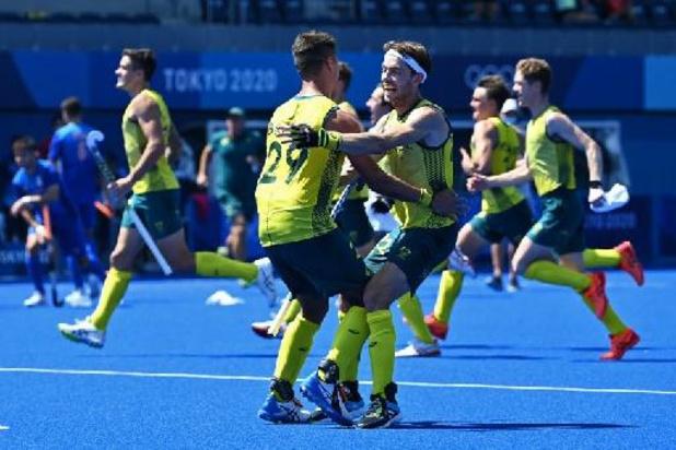 OS 2020 - Australische hockeyers na shoot-outs voorbij Nederland naar halve finales