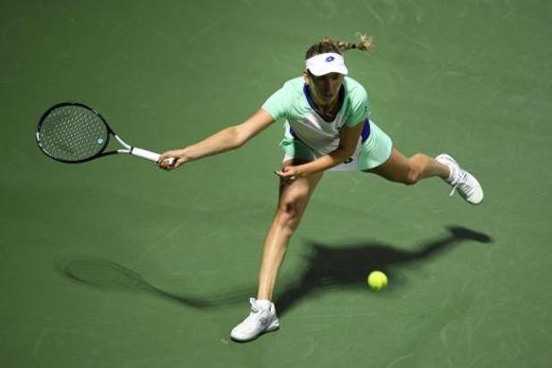 Titelverdedigster Mertens druipt in 2e ronde WTA-toernooi Doha af