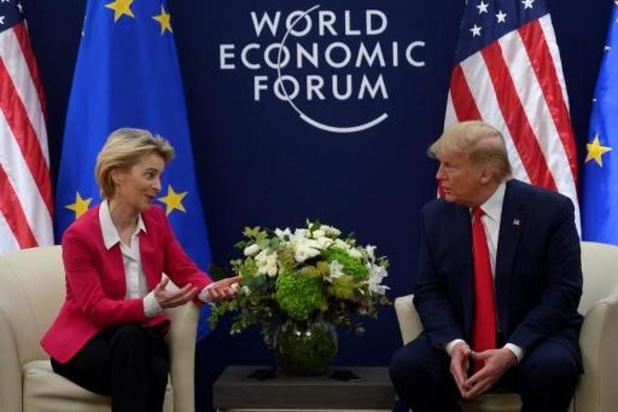 """Les Etats-Unis et l'UE discutent d'un """"accord commercial"""""""