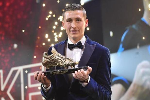 Gouden Schoen - Hans Vanaken volgt zichzelf op als Gouden Schoen
