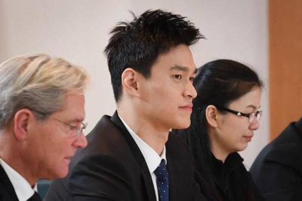 Zwemmer Sun Yang tekent beroep aan tegen schorsing van acht jaar