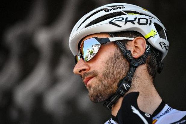 Tour de France: Carlos Barbero remplace Fabio Aru dans la sélection Qhubeka ASSOS