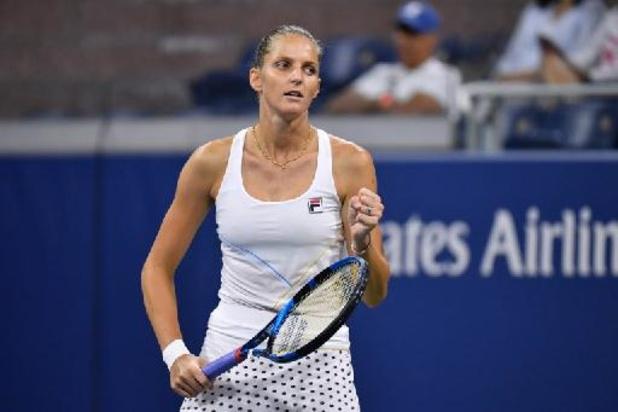Karolina Pliskova heeft ticket op zak voor WTA Finals