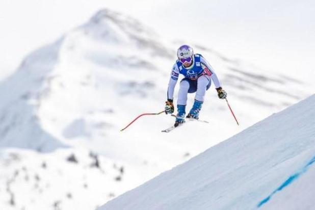Martin Cater, dossard 41, vainqueur surprise de la 1re descente de la saison à Val d'Isère