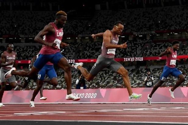 André De Grasse s'offre son premier titre olympique sur le 200 m