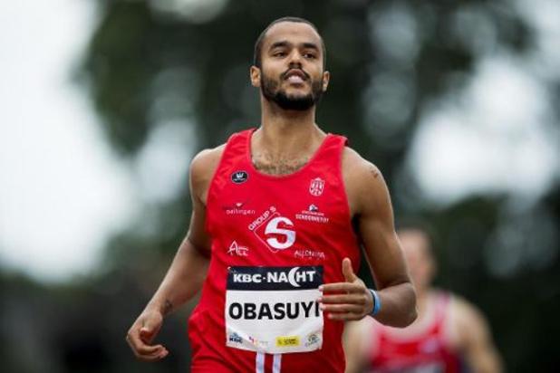 Michael Obasuyi en Anne Zagré plaatsen zich in Berlijn voor EK indoor atletiek