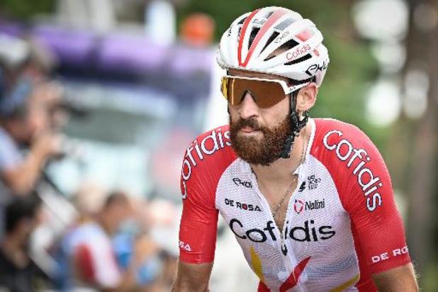 Le cycliste allemand Simon Geschke positif au Covid-19 à la veille de la course en ligne