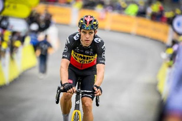 Wout van Aert is leider af in Ronde van Groot-Brittannië