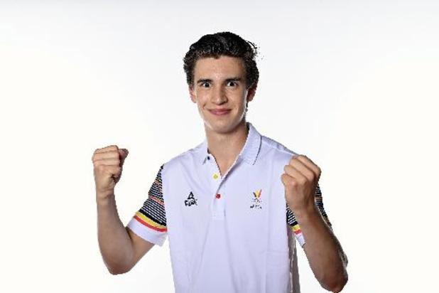 Jarno De Smedt bijt morgen spits af voor Team Belgium