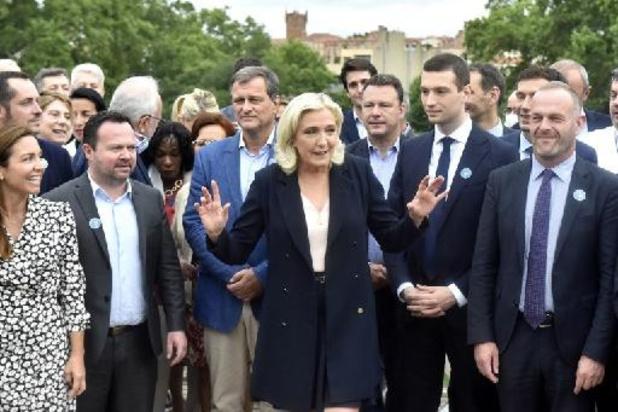 France: Marine Le Pen réélue sans surprise à la tête du RN pour un quatrième mandat