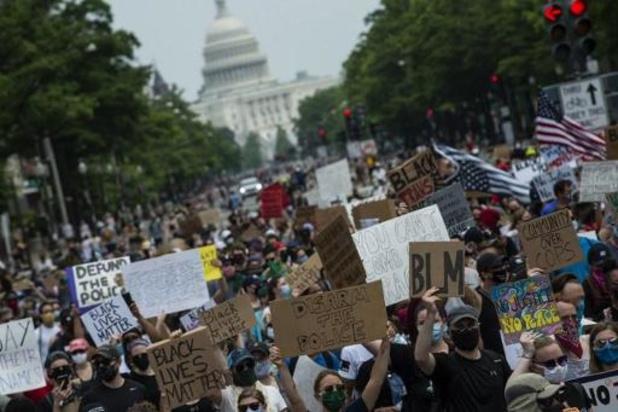 Violences policières contre les Afro-Américains - Des milliers de manifestants à Washington contre les violences policières