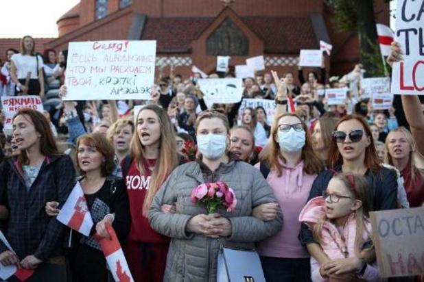 Spanningen Wit-Rusland - Tientallen arrestaties tijdens oppositiemanifestatie